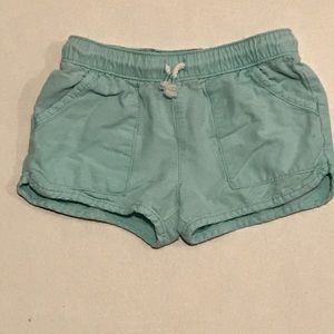 Oshkosh B'gosh teal shorts 4/5